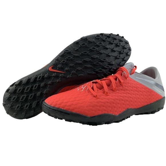 online store 49b0f 9312b Nike Hypervenom 3 DF TF Turf Indoor Soccer Shoes NWT